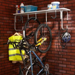 Une étagère pour y accrocher ses vélos