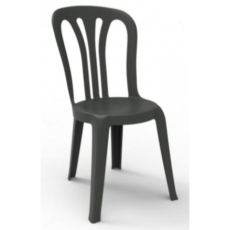 Chaise polypro pour collectivité