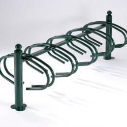Support pour garer 10 vélos en face à face