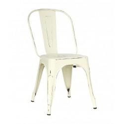 Belle chaise en métal pour intérieur et extérieur