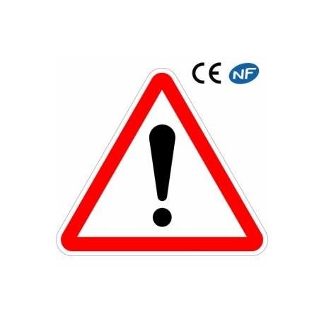 Panneau routier Signalant un danger Type A - A14