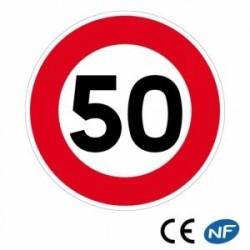 Panneau designalisation Limitation de vitesse (B14)