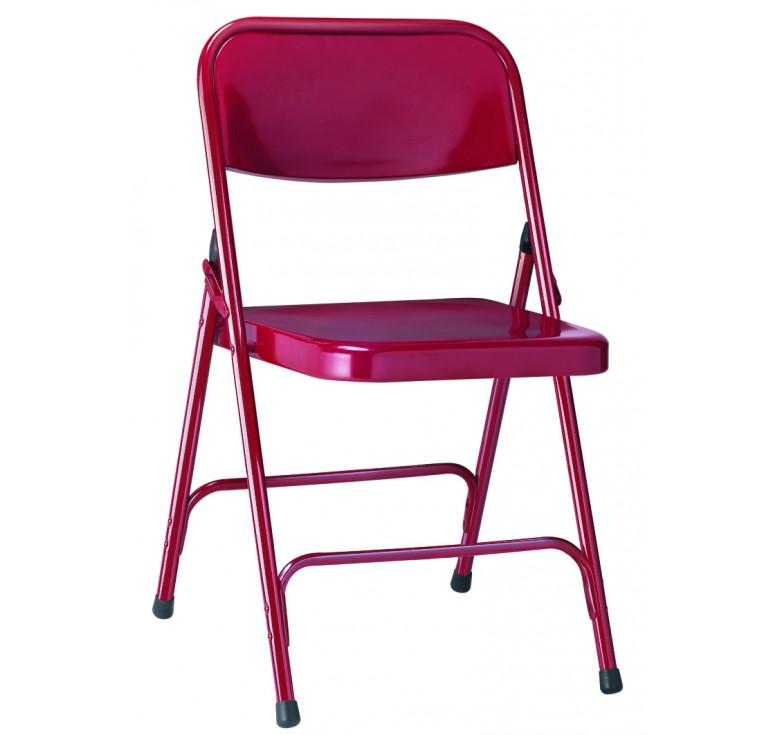Chaise pliante g nes chaise pliante pour collectivit s - Chaise pliante solide ...
