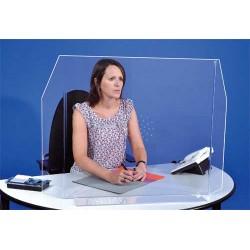 séparateur plexi forme horizontale anti virus