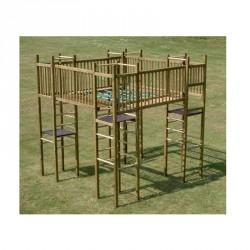 Jeu de grimpe : château fort pour les enfants de 5 à 12 ans