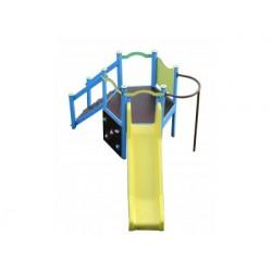Structure de jeux pour jardin public et cour d'école
