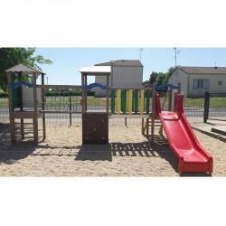 Un jeu de plein air pour les enfants de 2 à 6 ans