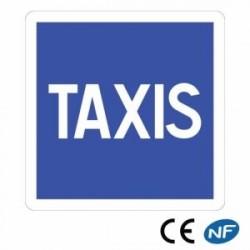 Panneau Code de la route annonçant une station de taxis C5