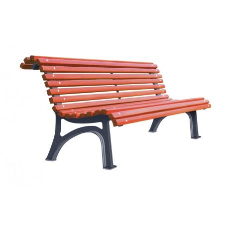 banc en bois et fonte plaza prix d 39 un banc en bois et fonte. Black Bedroom Furniture Sets. Home Design Ideas