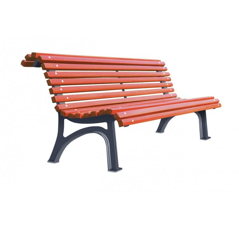 Banc en bois et fonte plaza prix d 39 un banc en bois et fonte for Prix banc en bois