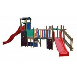 Complexe de jeux pour les enfants de 3 à 12 ans