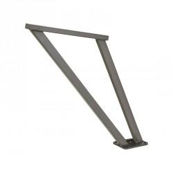 Appui pour cycles en acier galvanisé ou peint sur galva