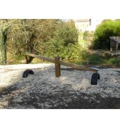 Balançoire bois horizontale 2,00m
