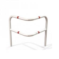 Arceau en acier pour sécurisé les angles - 800 x 800 x 1000 mm