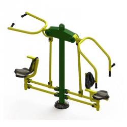 Agrès sportif pour la musculation. Idéal sur les parcours sportifs