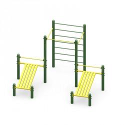Structure en acier Basique 5 pour pratique de sport en plein air
