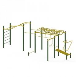 Structure Cross Fit pour travail de musculation en renforcement ou en pratique de fond