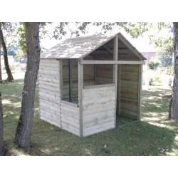 Cabane en bois Montagnarde