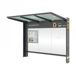 Station bus - Avec ou sans bardages latéraux