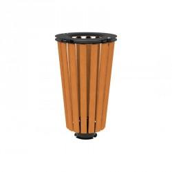 Corbeille en bois ronde - 80 Litres