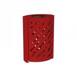 Corbeille métal Venise - 120 Litres