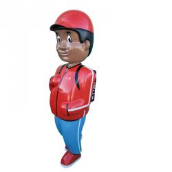 Figurine de signalisation géante : Jules et ses amis