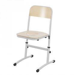 Chaise scolaire réglable et appui sur table