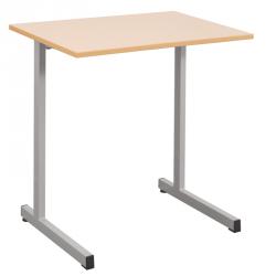 Table scolaire monoplace 70x50 cm