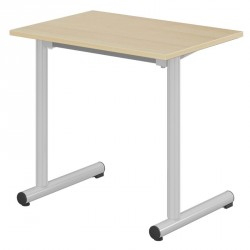 Table scolaire 70x50 cm - Pieds rond