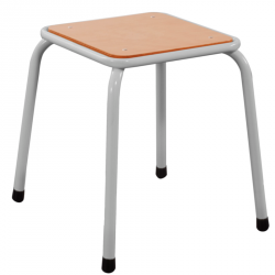 Tabouret de classe - hauteur 45 cm