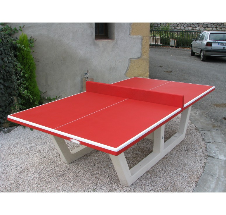 Table de ping pong tout b ton jeux collectivit s table ping pong netcollectivit s - Table ping pong exterieur beton ...