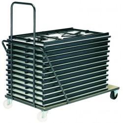 Chariot pour tables 120 cm ou 160/180 cm