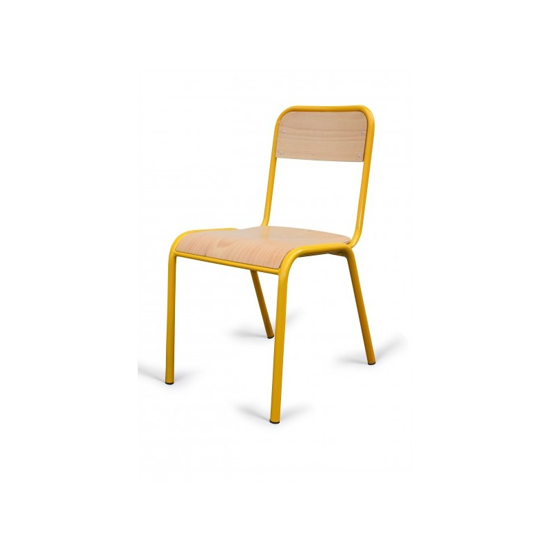 Chaise d'école 4 piedschaise d'écolier d empilablechaise xBdeCo