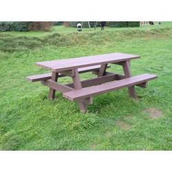 Table Pique Nique en recyclé