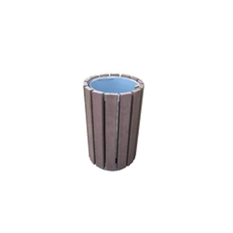 corbeille rando en plastique recycl simple mobilier urbain en recycl netcollectivit s. Black Bedroom Furniture Sets. Home Design Ideas