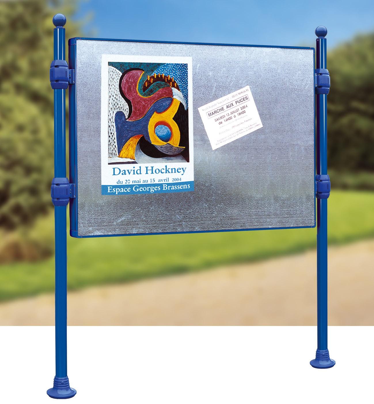 Tableau D Affichage Vitré panneaux d'affichage libre