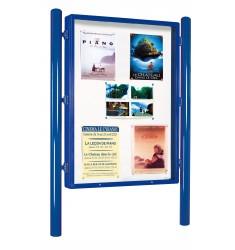 Panneau d'affichage vitré
