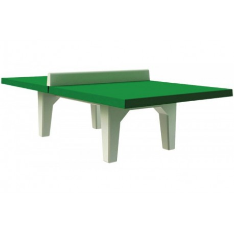 Table de ping pong b ton combat jeux de collectivit s - Table de ping pong exterieur pour collectivite ...