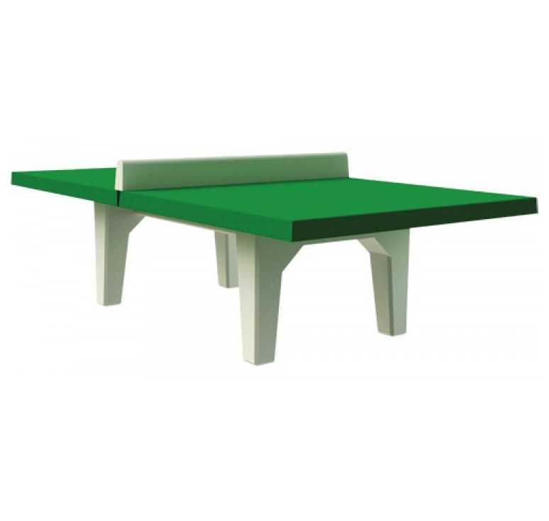 Table de ping pong b ton combat jeux de collectivit s - Table de ping pong exterieur en beton ...