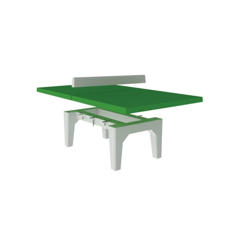 table de ping pong b ton combat jeux de collectivit s aire jeux mobilier urbain. Black Bedroom Furniture Sets. Home Design Ideas