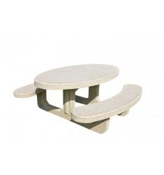Table Pique Nique Béton Olga