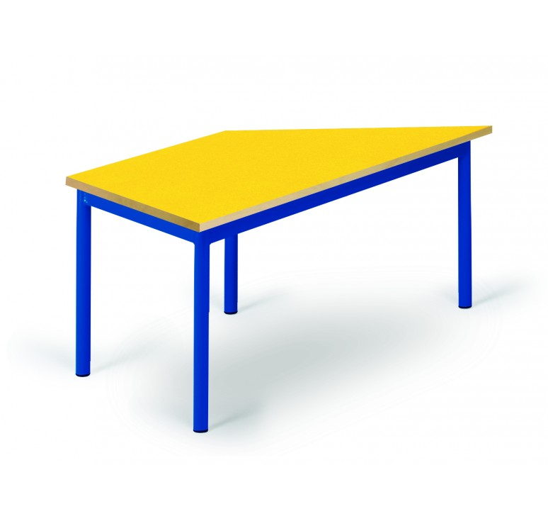 table maternelle trapeze noa mobilier maternelle mobilier scolaire. Black Bedroom Furniture Sets. Home Design Ideas