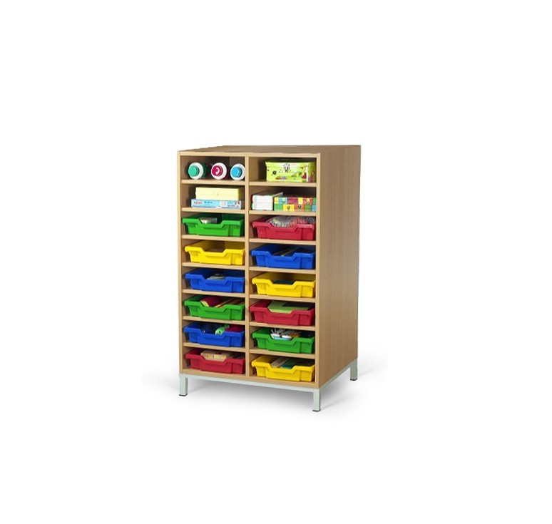 meuble casier 16 cases mobilier maternelle mobilier
