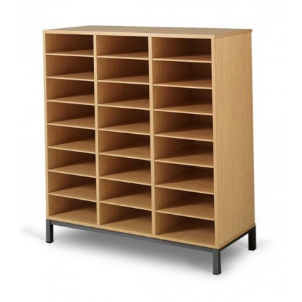 Meuble casier 24 cases mobilier maternelle mobilier for Meuble casier