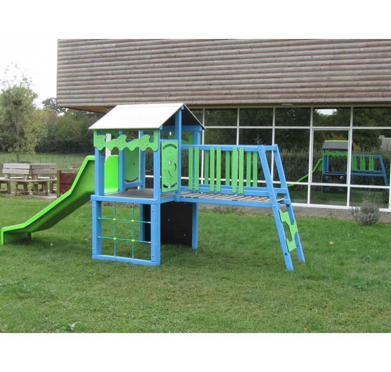 structure de jeux d 39 ext rieur gymino alu structure de jeux pour enfants net collectivit s. Black Bedroom Furniture Sets. Home Design Ideas