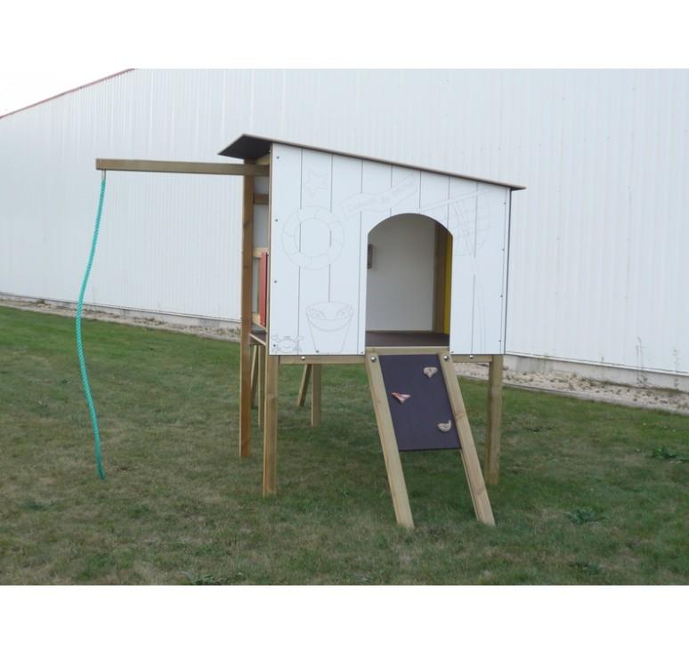 structure multi jeux la maison du p cheur. Black Bedroom Furniture Sets. Home Design Ideas