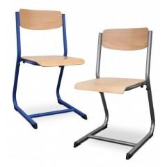Chaise & Banc d'école