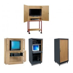 Armoire video et informatique