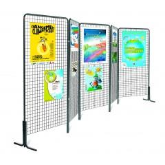 Panneaux d'Affichage sur pied, muraux et grille d'exposition