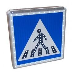 Panneau de signalisation routière lumineux